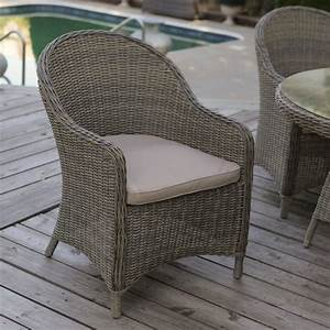 Mingle, All-weather, Wicker, Patio, Dining, Chair, -, Set, Of, 2