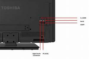 Toshiba 40l1353b 40