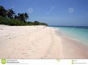 White Beach Desert Island Background Philippines Stock ...