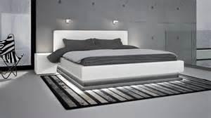 led pour chambre lits en cuir design