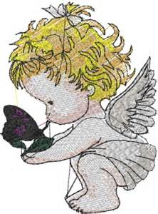 Baby Angel Embroidery Designs Free