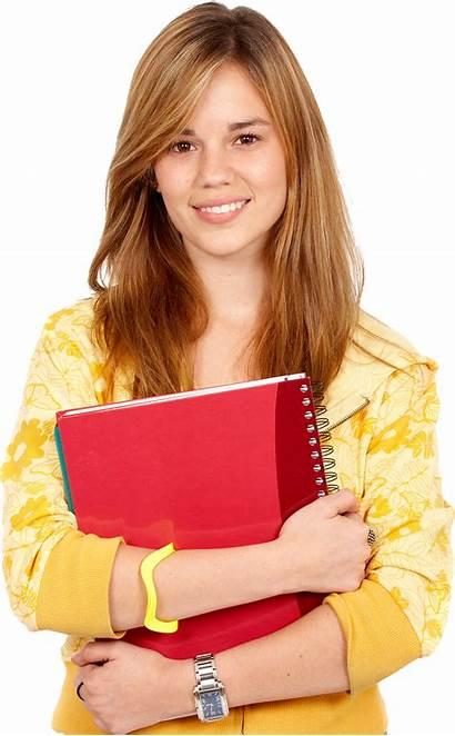 Student Transparent College Female Background University Students