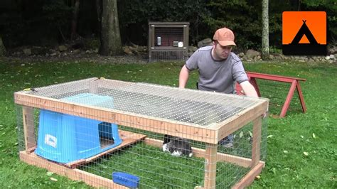 How To Make Your Own Rabbit Hutch by How To Build A Rabbit Hutch Cheap And Easy
