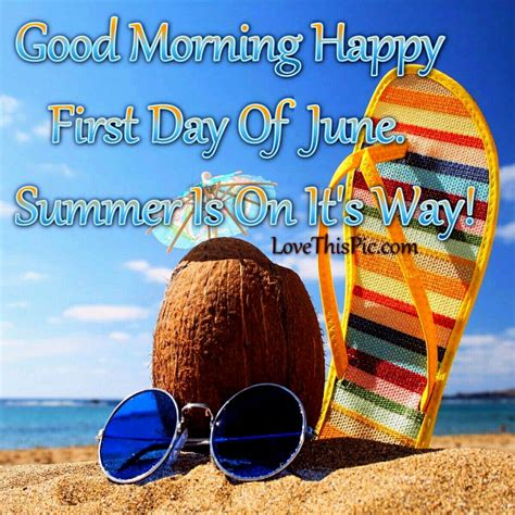 good morning happy  day  june months