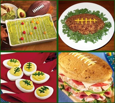 football food ideas quot football quot food celebrations at home