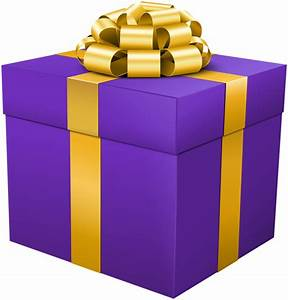 Purple Gift Box PNG Clip Art Image | Gallery Yopriceville ...