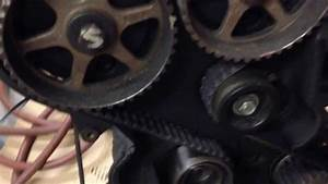 2 4 Dodge Stratus Engine Timing Belt Walked  Sliced