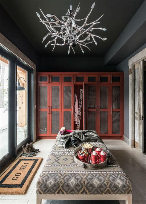 log cabin style meets ethnic  modern interior design decoholic