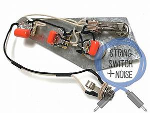 Gibson  Flying V  Wiring Harness  Treble Bleed  No Load