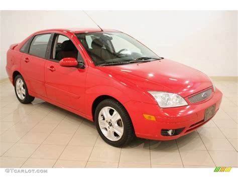 infra red 2005 ford focus zx4 st sedan exterior photo