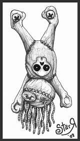 Drawing Tattoo Ragdoll Doll Voodoo Deviantart Drawings Rag Dolls Coloring Pages Sketches Tattoos Skull Adult Graffiti Cartoon Evil Flash Tatoo sketch template
