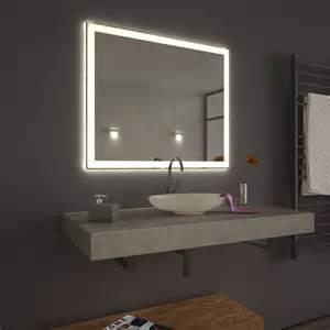 badezimmer beleuchtung spiegel spiegel mit led beleuchtung 39 velen 39 umlaufend led 9000279