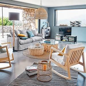 meubles deco dinterieur bord de mer maisons du monde With tapis chambre bébé avec pot de fleur 80 litres