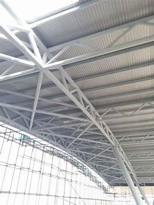 China Space Frame Roofing   Steel Canopy  Steel Structure