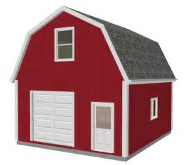 gambrel garage with loft plans house design