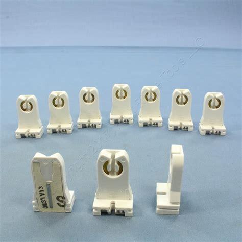 10 new fluorescent lholder sockets t8 t12 medium bi pin
