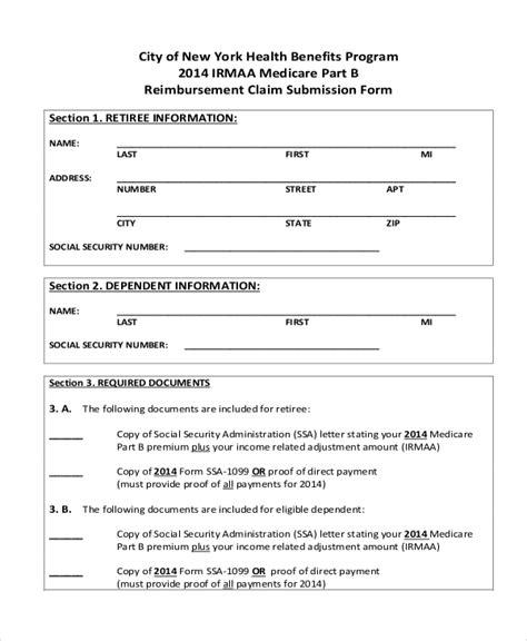 medicare part b forms 855i sle medicare application form oursearchworld
