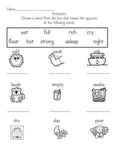 preschool synonyms 1000 images about antonym on cards 527