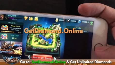 mobile legends hack  unlimited diamond   ml hack