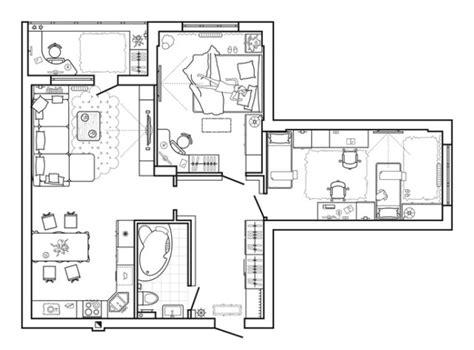ideas de planos de casas  pisos de una sola planta