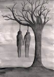 Suicide Art Drawings