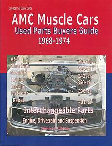 Amc Javelin Manuals At Books4cars Com
