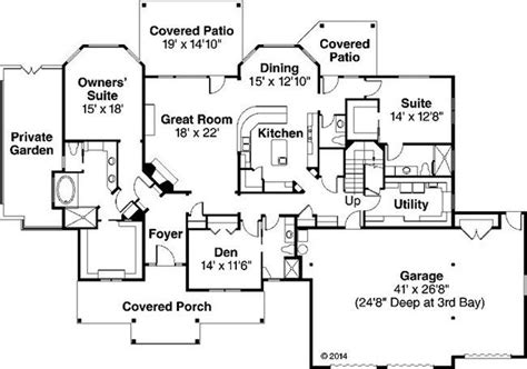 Floor Master House Plans by House Plans With Two Master Suites One Story