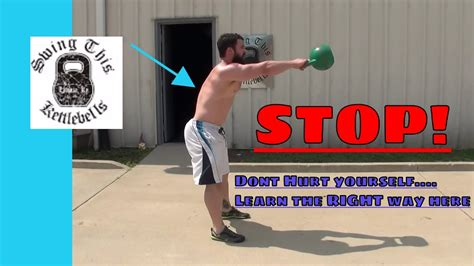 kettlebell swing injury prevent safety basic pain exercises should