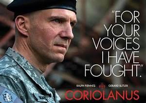 Ralph Fiennes' Coriolanus and Shakespeare on screen | The ...  Coriolanus