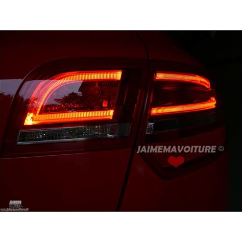 audi  sportback facelift led rear lights