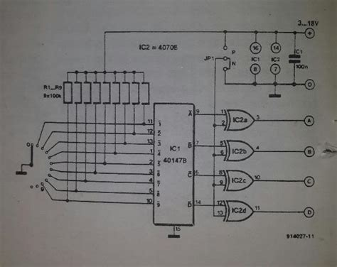 Bcd Rotary Switch