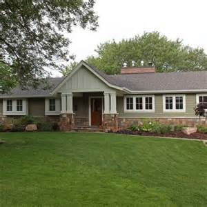 Photos And Inspiration Ranch Style House Remodel Ideas by Traditional Home 1950s Ranch Exterior Remodeling Design