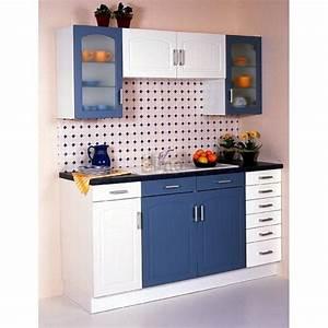 Buffet cuisine moderne buffet de cuisine moderne 6 portes for Petite cuisine équipée avec meuble buffet vaisselier