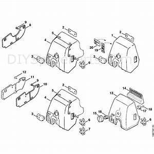 Stihl 036 Chainsaw  036  Parts Diagram  Carburetor Cover