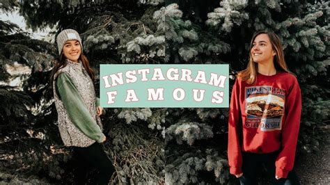 Trying To Be Instagram Famous  Vlogmas Day 6  Youtube