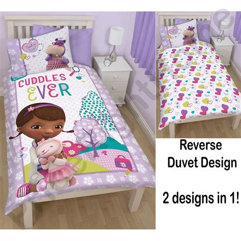 Doc Mcstuffin Bedroom Set by Doc Mcstuffins Bedroom Bedding Duvet Covers In Single And