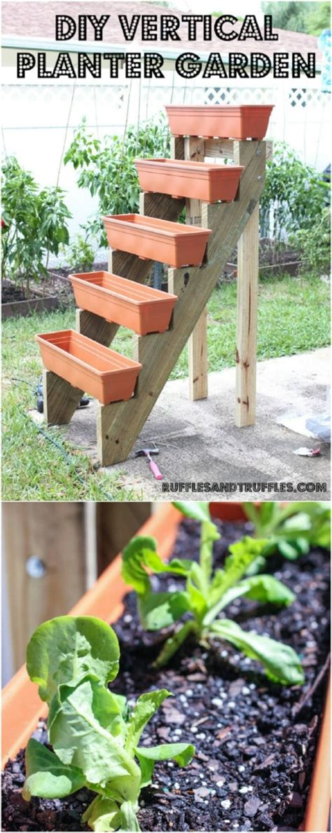 Vertical Gardening Diy by 20 Diy Vertical Gardens That Give You In Small Spaces