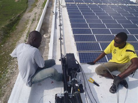 Electrical Wiring In Haiti by World S Largest Solar Powered Hospital Project Brings 800