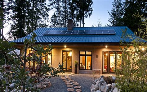 salt spring island solar home nz builders