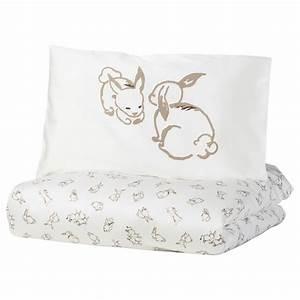 Ikea Baby Bettwäsche : r dhake bettw sche 2 tlg f baby kaninchen wei beige ikea deutschland ~ A.2002-acura-tl-radio.info Haus und Dekorationen