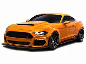 2018-2019 Ford Mustang Duraflex Grid Wide Body Kit 12 piece Ground Effects.