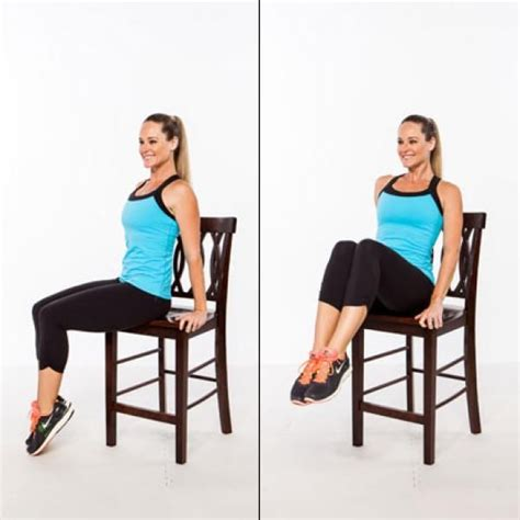 Chair Abs Workout by Abs Workout Stand Up For A Flat Stomach