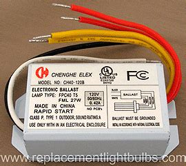 Ballast For Fml Compact Fluorescent Lamp