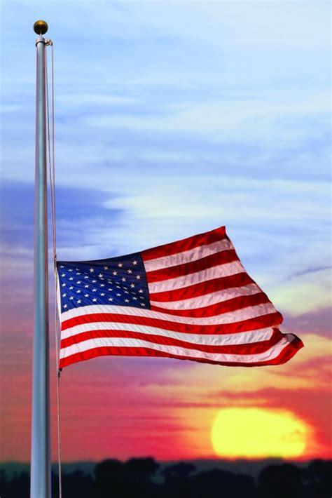 fly  american flag