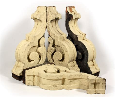 Corbels For Sale two matching pairs of antique yellow corbels c 1880 s