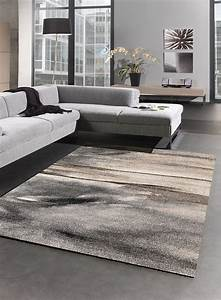 tapis salon moderne elegant 01 gris With tapis moderne salon