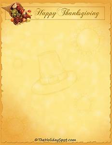 Letterheads and stationary for writing hand written messages and cards for Thanksgiving letterhead