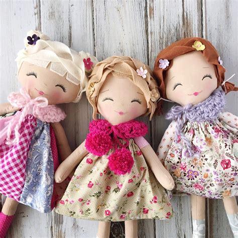 spuncandy classic doll heirloom quality doll modern rag