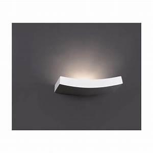 Applique Murale Salon : applique murale blanche design luminaire faro ~ Premium-room.com Idées de Décoration
