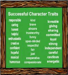 Good Character Traits